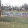 children's playground and athletic courts - approx. 100 yards to the rear of the townhome